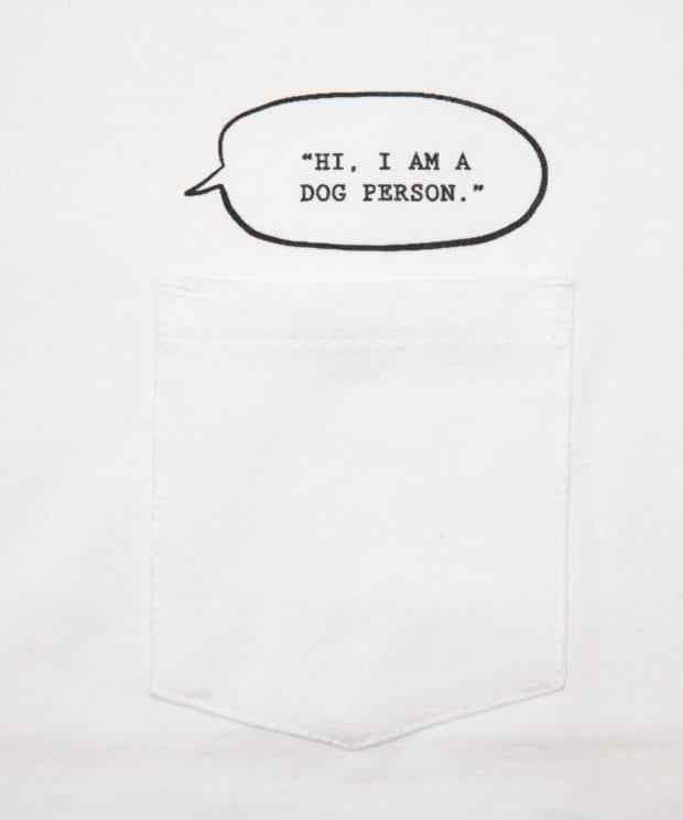 I'm a Dog person. ユニセックス ポケット Tシャツ