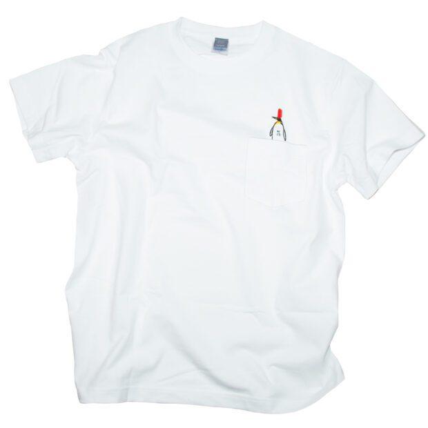 ペンペン刺しゅう ポケット Tシャツ