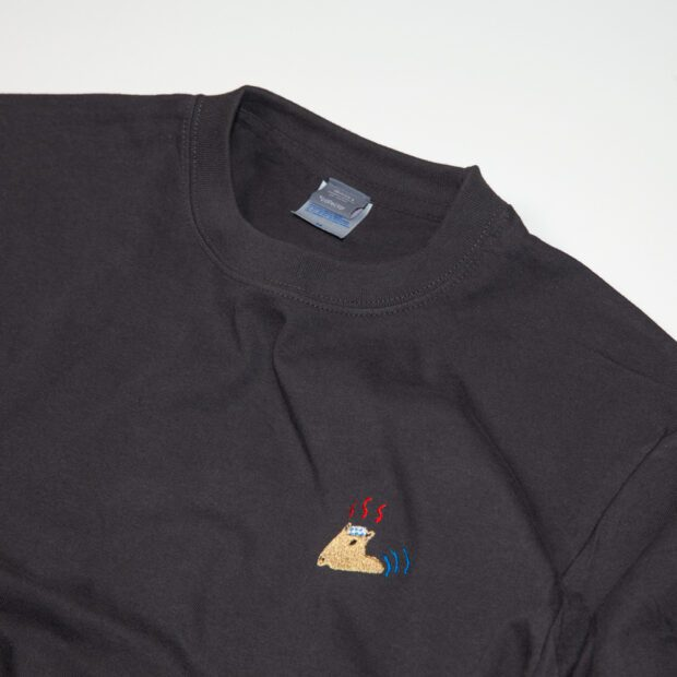 カビバラ Tシャツ 拡大