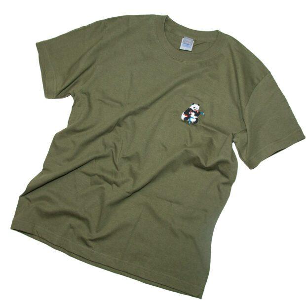 パンダ赤青鉛筆 Tシャツ