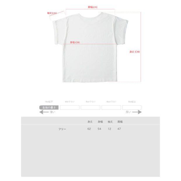 レディース Tシャツ サイズ表