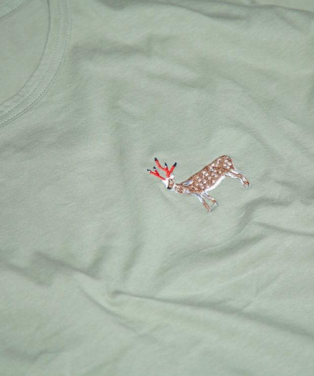鹿鉛筆 レディース ビッグシルエット Tシャツ 拡大