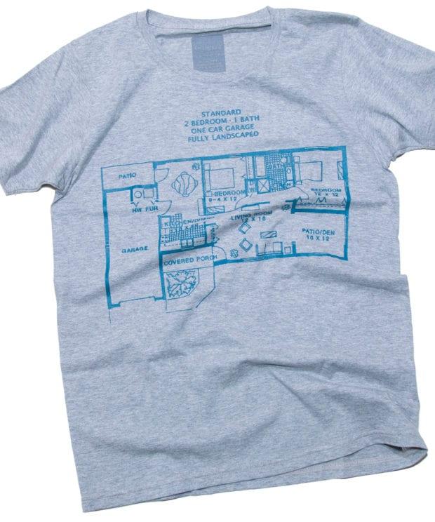 外国間取り Tシャツ