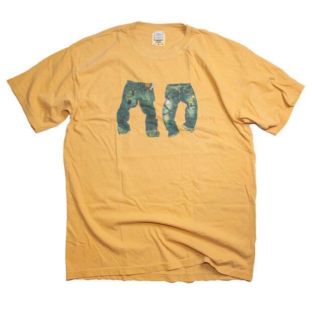 汚れたデニム DustJEAN Tシャツ