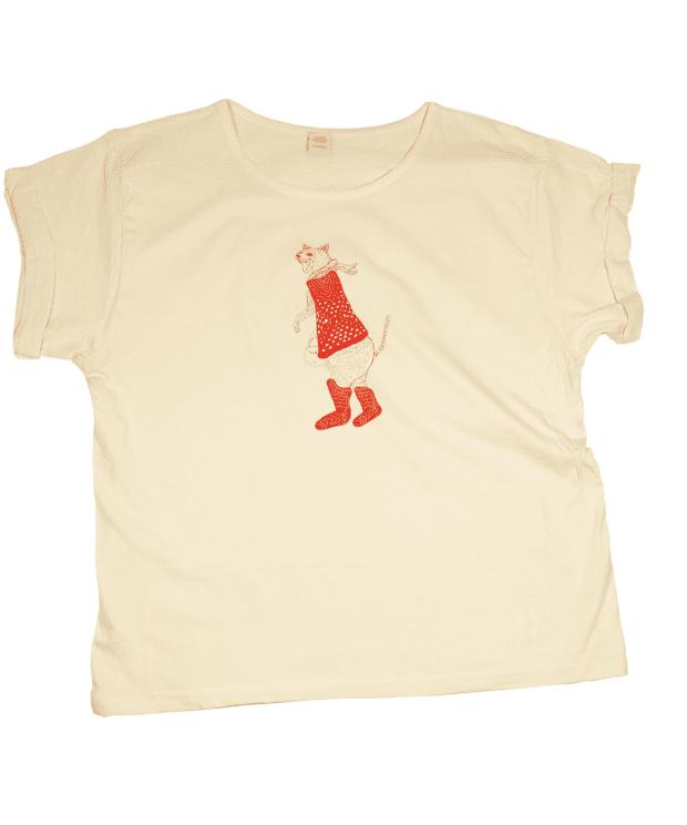 長靴を履いた猫 Tシャツ レディース フリー