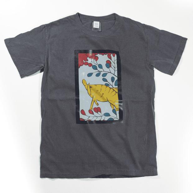 花札7月 Tシャツ