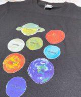 太陽系Tシャツ