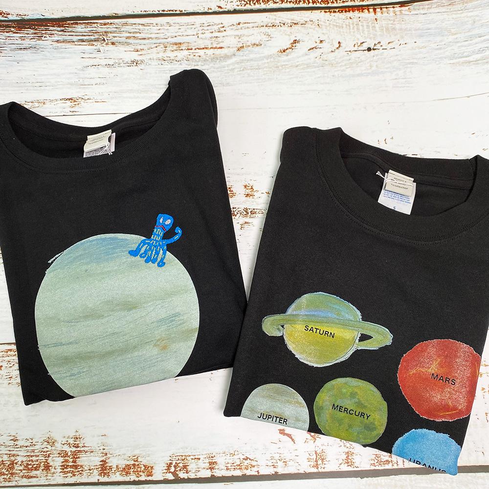 太陽系Tシャツ 木星人Tシャツ
