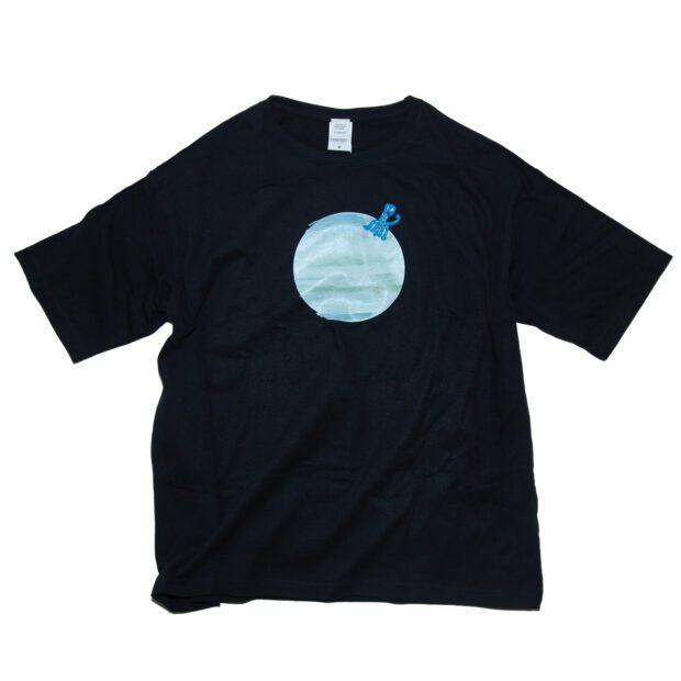 木星と宇宙人Tシャツ