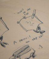 a pencil Tシャツ