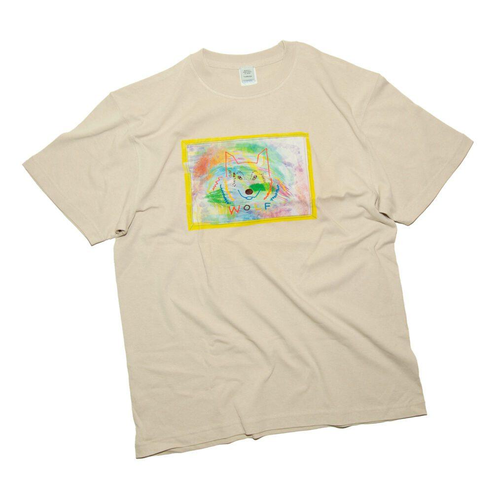 wolfTシャツ