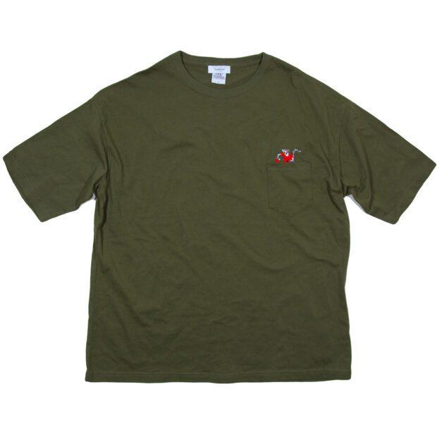 卓球のワオキツネザルTシャツ