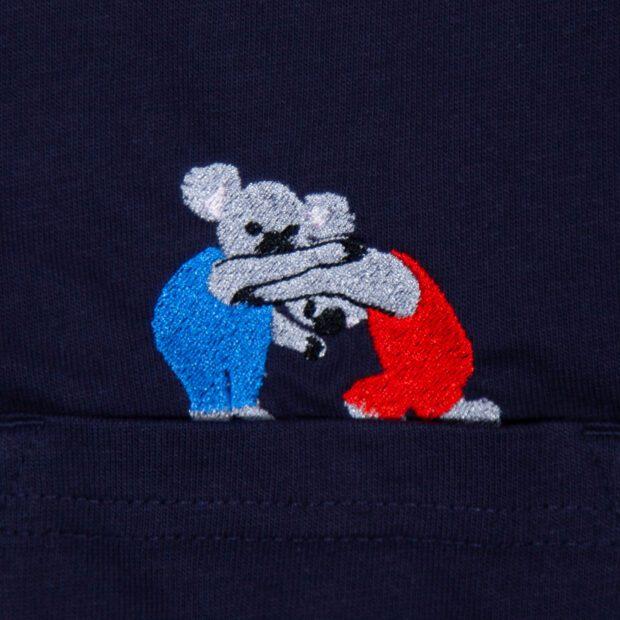 コアラレスリングTシャツ