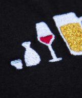 アルコールとわたしレディースTシャツ